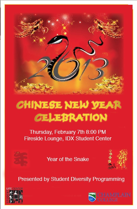Chinese New Year Poster 2013